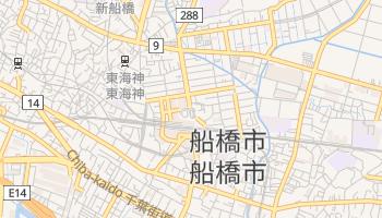 船橋市 の地図