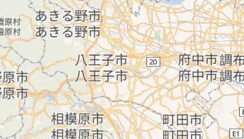 八王子市 の地図