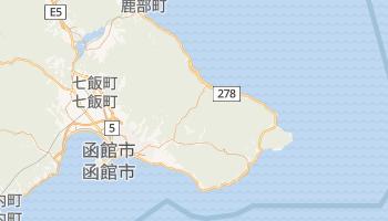 函館市 の地図