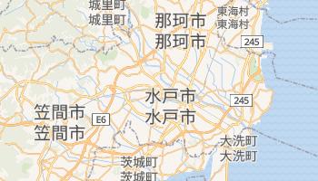 水戸市 の地図