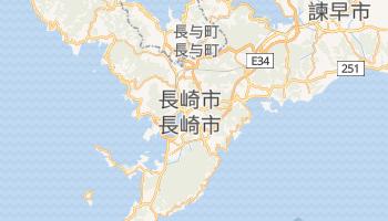 長崎市 の地図