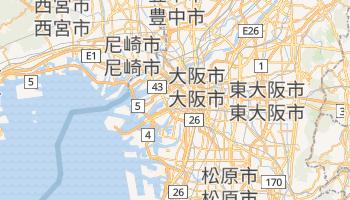 大阪市 の地図