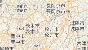 高槻市 の地図