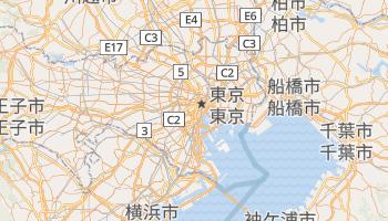 東京都 の地図