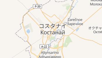 コスタナイ の地図