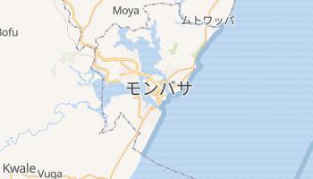 モンバサ の地図