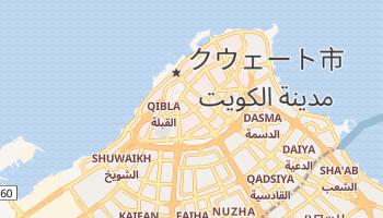 クウェイト の地図
