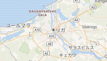 リガ の地図