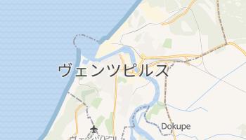 ヴェンツピルス の地図