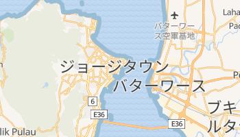 ジョージタウン の地図