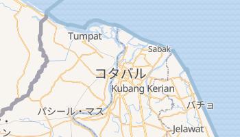 コタバル の地図