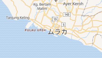 マラッカ の地図