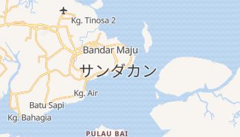 サンダカン の地図
