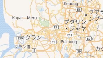 シャー・アラム の地図