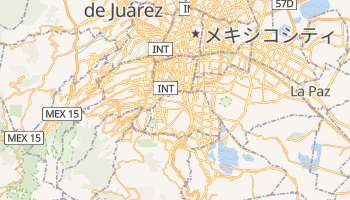 コヨアカン の地図