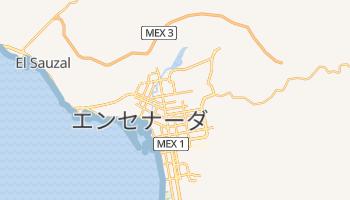 エンセナーダ の地図