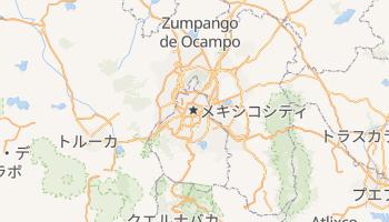 メキシコシティ の地図
