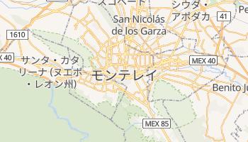 モンテレー の地図