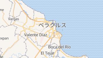 ベラクルス州 の地図