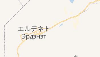エルデネト の地図