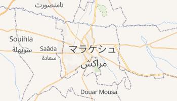 マラケシュ の地図
