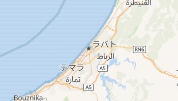 ラバト の地図