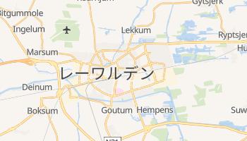 レーワルデン の地図