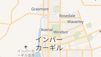 インバーカーギル の地図