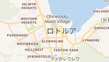 ロトルア の地図