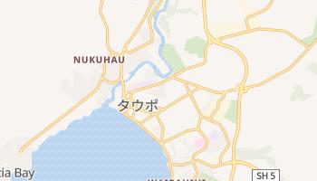 タウポ の地図