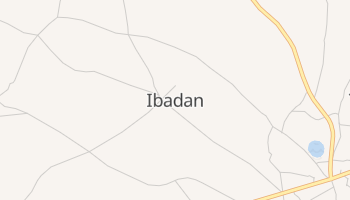 イバダン の地図