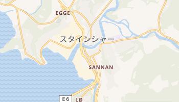 スタインシャー の地図