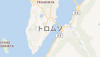 トロムソ の地図