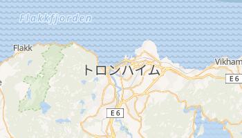 トロンハイム の地図