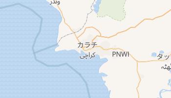 カラチ の地図