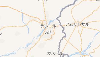 ラホール の地図