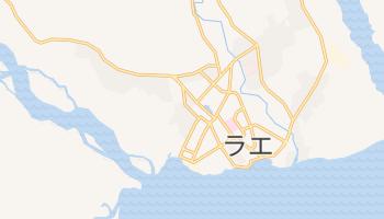 ラエ の地図