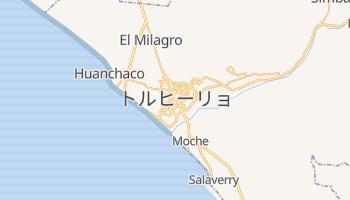 トルヒーリョ の地図