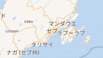 セブ州 の地図