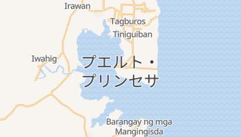 プエルト・プリンセサ の地図