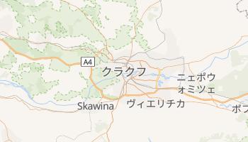 クラクフ の地図