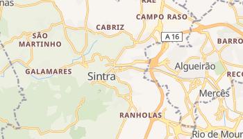 シントラ の地図