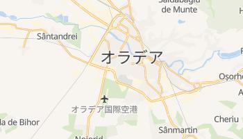オラデア の地図