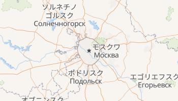 モスクワ の地図