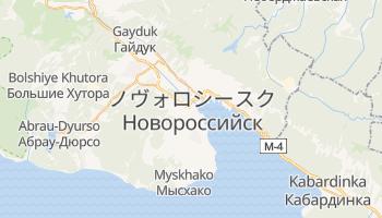 ノヴォロシースク の地図