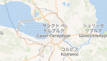 サンクトペテルブルク の地図