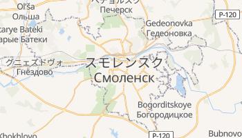スモレンスク の地図