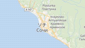 ソチ の地図