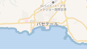 バセテール の地図