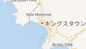 キングスタウン の地図